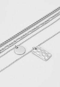 Pieces - PCOKIA COMBI NECKLACE - Necklace - silver-coloured - 2