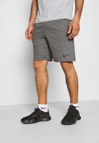 Nike Performance - SHORT - Sportovní kraťasy - charcoal heather/black - 0