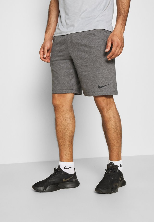 SHORT - Sports shorts - charcoal heather/black