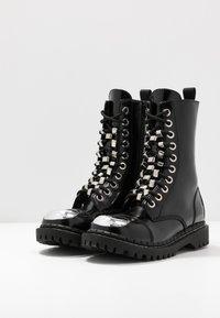 Jeffrey Campbell - Cowboy/biker ankle boot - black - 4