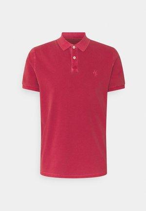 SHORT SLEEVE BUTTON - Polo shirt - scarlet