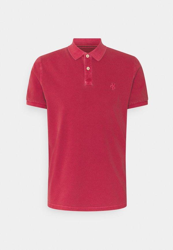 Marc O'Polo Koszulka polo - scarlet/ciemnoczerwony Odzież Męska TJML