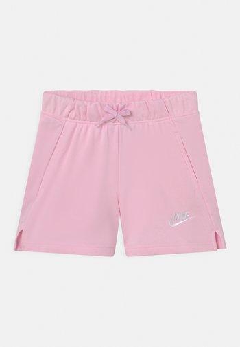 CLUB - Pantaloni sportivi - pink foam/white