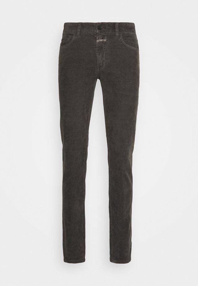 UNITY SLIM - Pantalon classique - dark lava