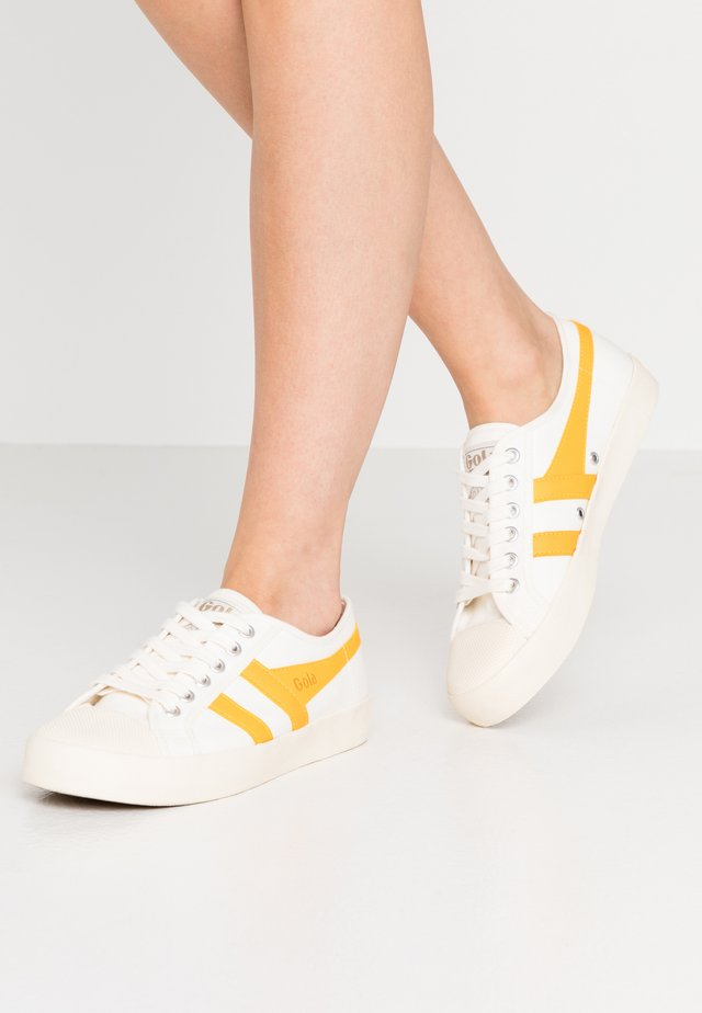 COASTER - Sneakers basse - offwhite/sun