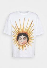 YMC You Must Create - SUN HEAD TRIPLE - Printtipaita - ecru - 0