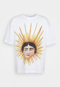SUN HEAD TRIPLE - Printtipaita - ecru