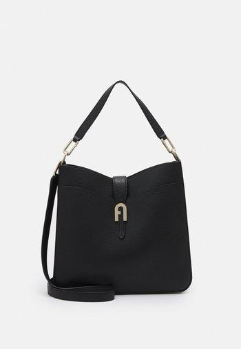 SOFIA GRAINY HOBO - Handbag - nero