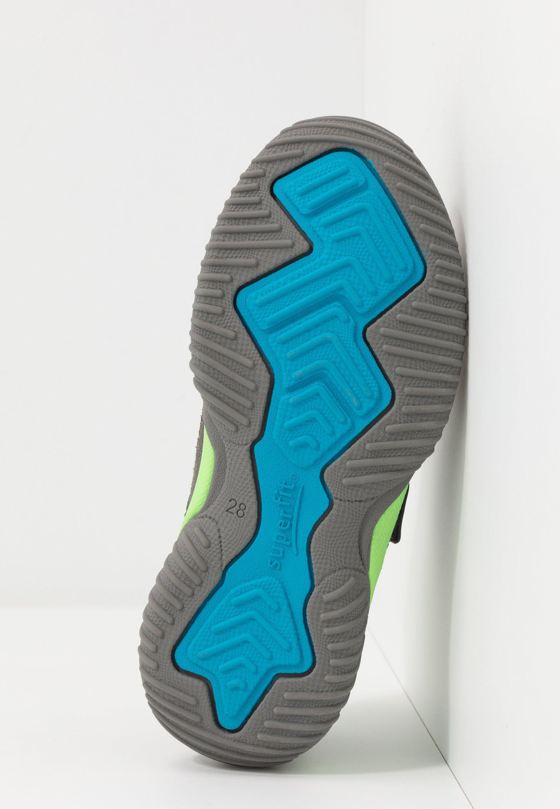 Grande remise Meilleurs prix Superfit STORM Chaussures à scratch grau/grün FK1o9