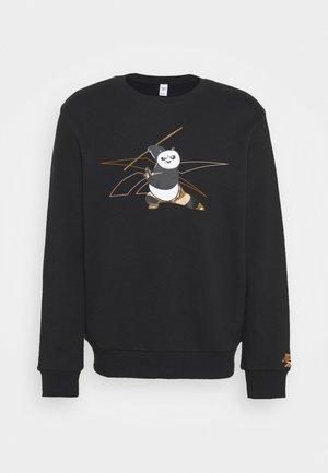 KUNG FU PANDA CREW SWEATSHIRT - Sweatshirt - black