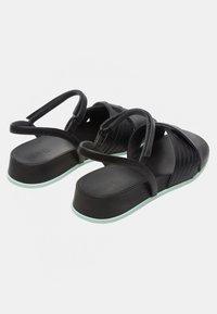 Camper - ATONIK - Sandalias de cuña - black - 3