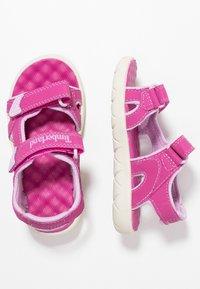Timberland - PERKINS ROW 2-STRAP - Sandalias de senderismo - medium pink - 0