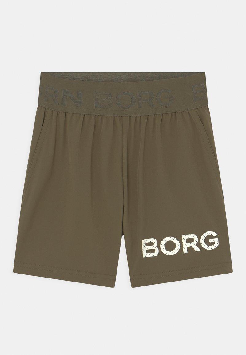 Björn Borg - JR UNISEX - Sportovní kraťasy - olive