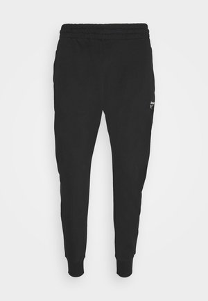 VECTOR  - Tracksuit bottoms - black
