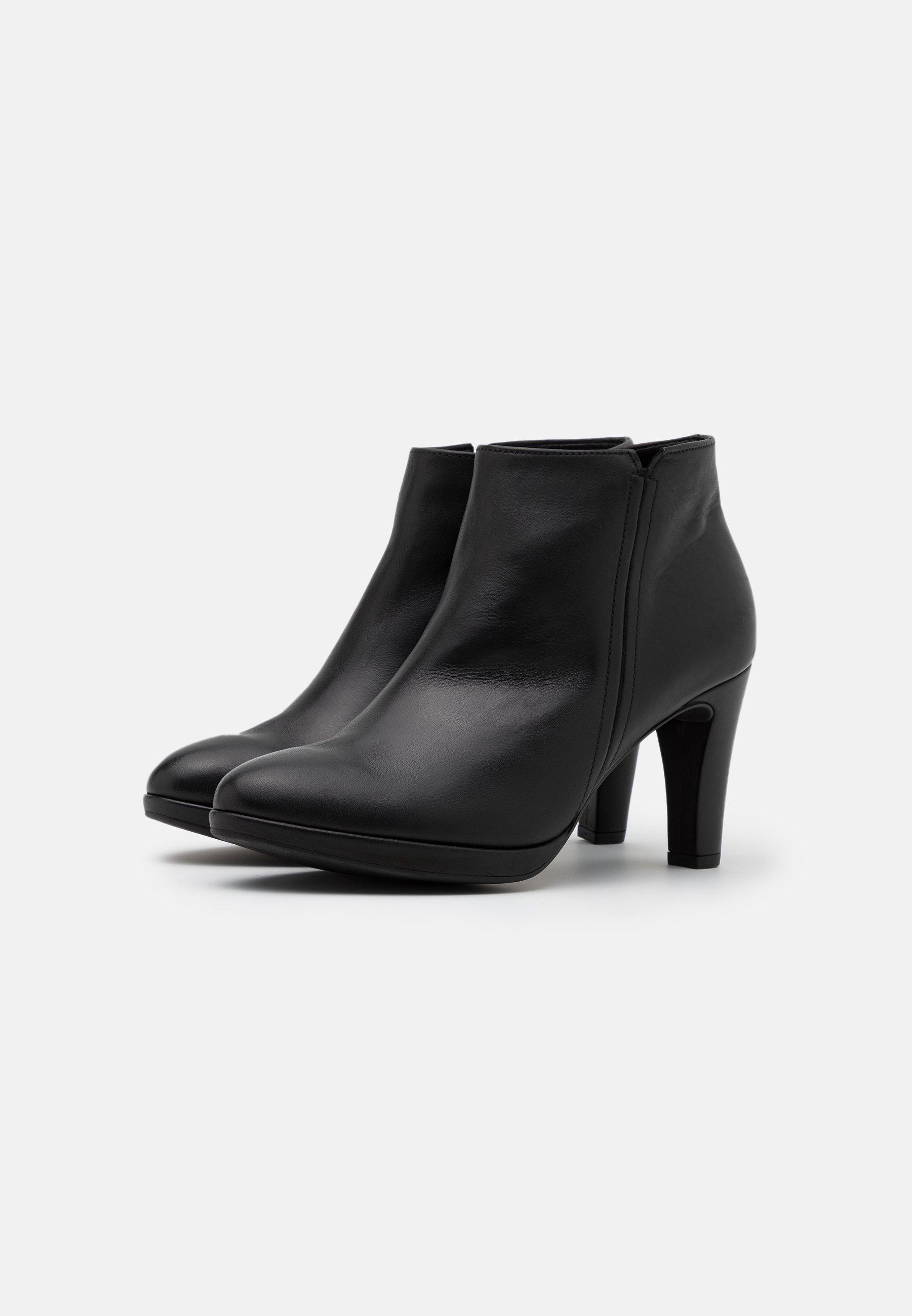 Gabor High Heel Stiefelette schwarz