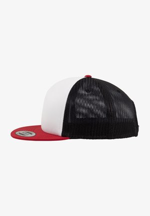 FOAM TRUCKER - Cap - red/wht/bk