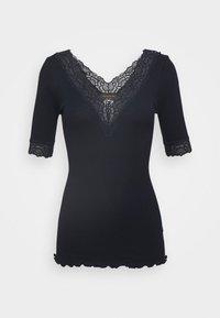 Rosemunde - V NECK - T-shirts med print - dark blue - 3