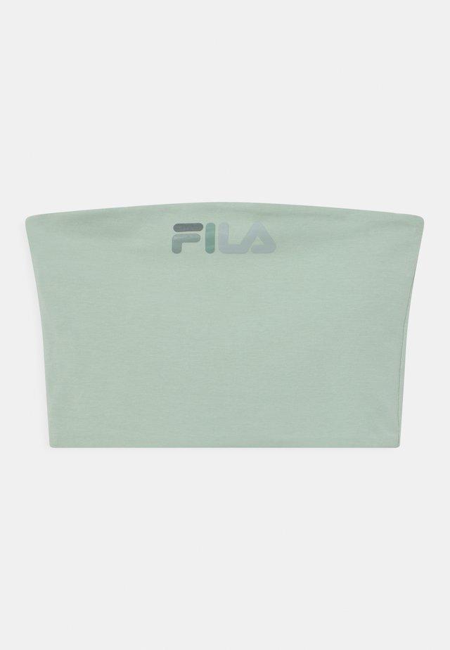 POPPY BANDEAU - Top - silt green