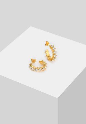 HOOPS ELEGANT - Earrings - gold-coloured