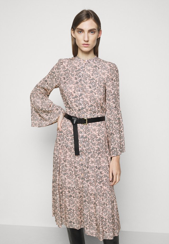 LEAFY MEDL MIDI DRESS - Paitamekko - powder blush