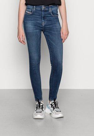 SLANDY HIGH - Skinny džíny - dark blue