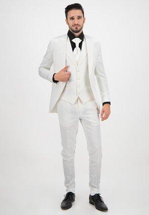 DELUXE LINE 4-TEILER (SLIM-FIT) - Suit - weiß