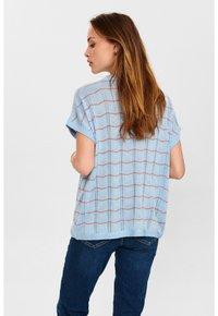 Nümph - NUDARLENE DARLENE - Print T-shirt - airy blue - 1