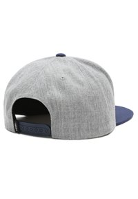 Vans - MN CLASSIC PATCH SNAPBACK - Cap - heather grey/dress blues - 1
