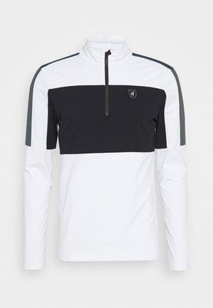 RICK - Trainingsjacke - bright white/black