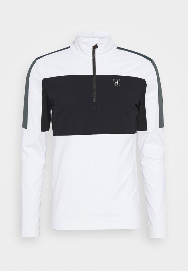 RICK - Trainingsvest - bright white/black