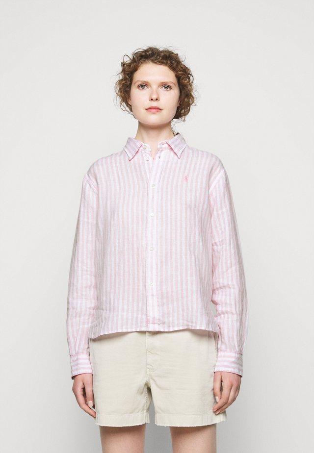STRIPE - Hemdbluse - garden pink
