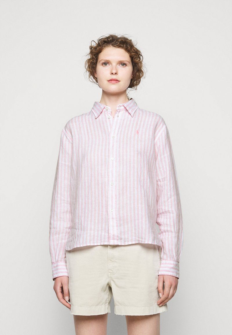 Polo Ralph Lauren - STRIPE - Košile - garden pink