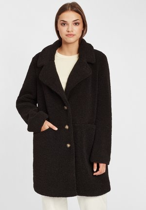 Classic coat - black out