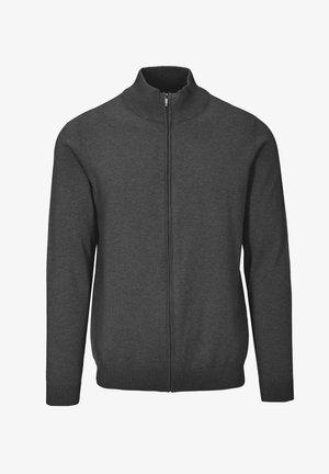 MIT STEHBUND - Zip-up sweatshirt - 804 anthra mel.