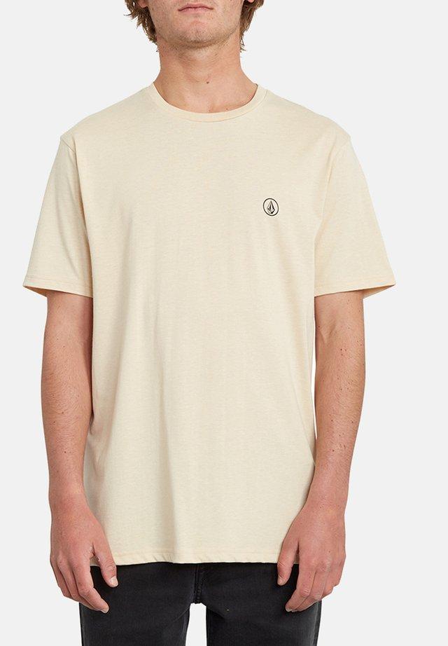 CIRCLE BLANKS HTH SS - Camiseta básica - white