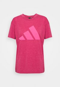 adidas Performance - WIN 2.0 TEE - T-shirt imprimé - berry - 0