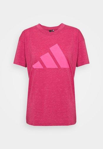 WIN 2.0 TEE - T-shirt print - berry
