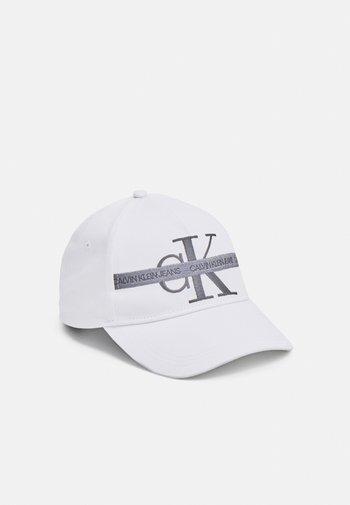 MONOGRAM TAPE UNISEX - Keps - bright white