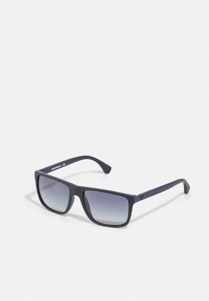 Emporio Armani - Sunglasses - black/blue