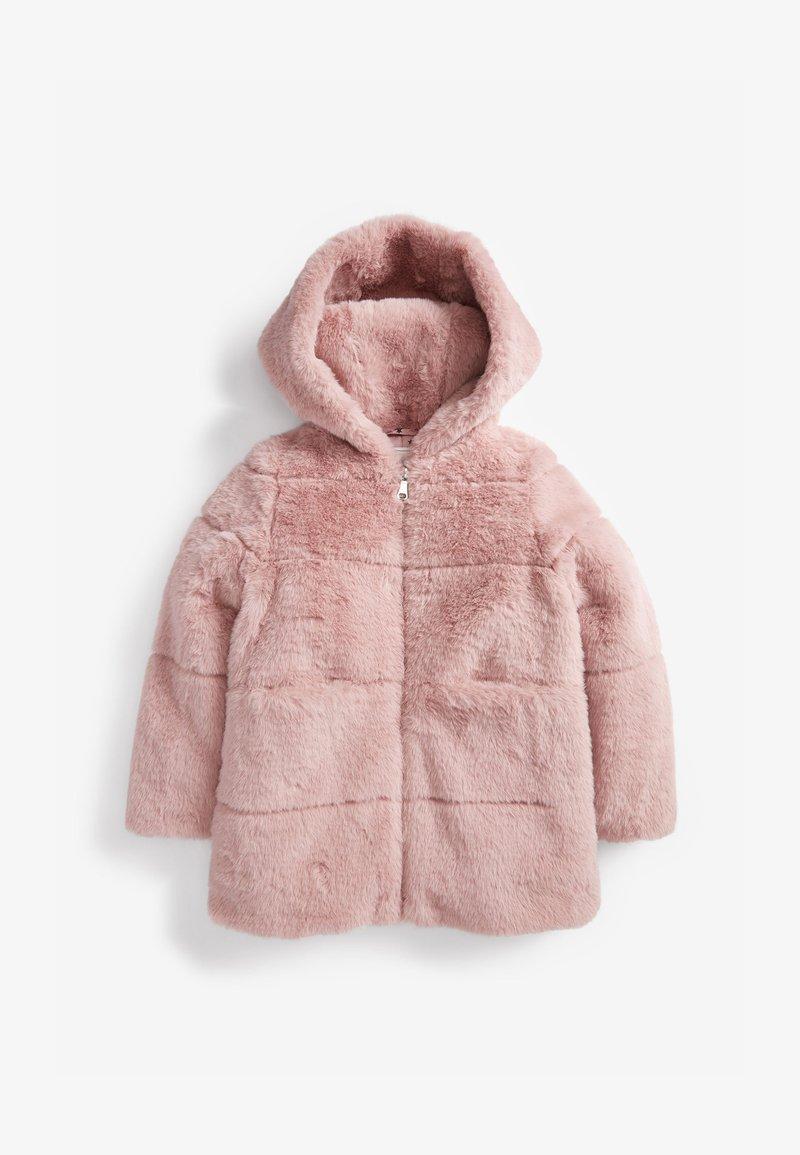 Next - Zimní kabát - pink