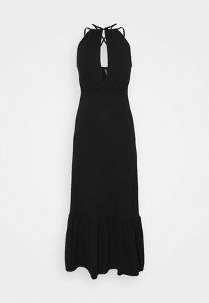 PCNEORA STRAP DRESS - Maxi dress - black