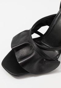 Topshop - ROSIE ANKLE TIE - High heeled sandals - black - 5