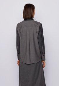 BOSS - BELUTA - Button-down blouse - grey - 2