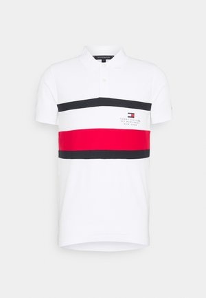 CHEST STRIPE  - Poloshirt - white