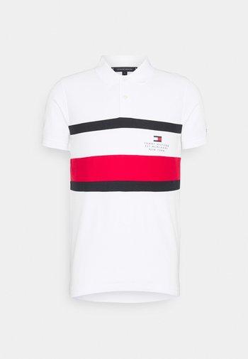 CHEST STRIPE  - Polo shirt - white