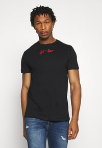 Night Addict - METAL - T-shirt con stampa - black
