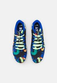 Nike Performance - AIR ZOOM PEGASUS 38 KA UNISEX - Zapatillas de running neutras - grain/racer blue/black/glacier blue/lime glow/obsidian - 3