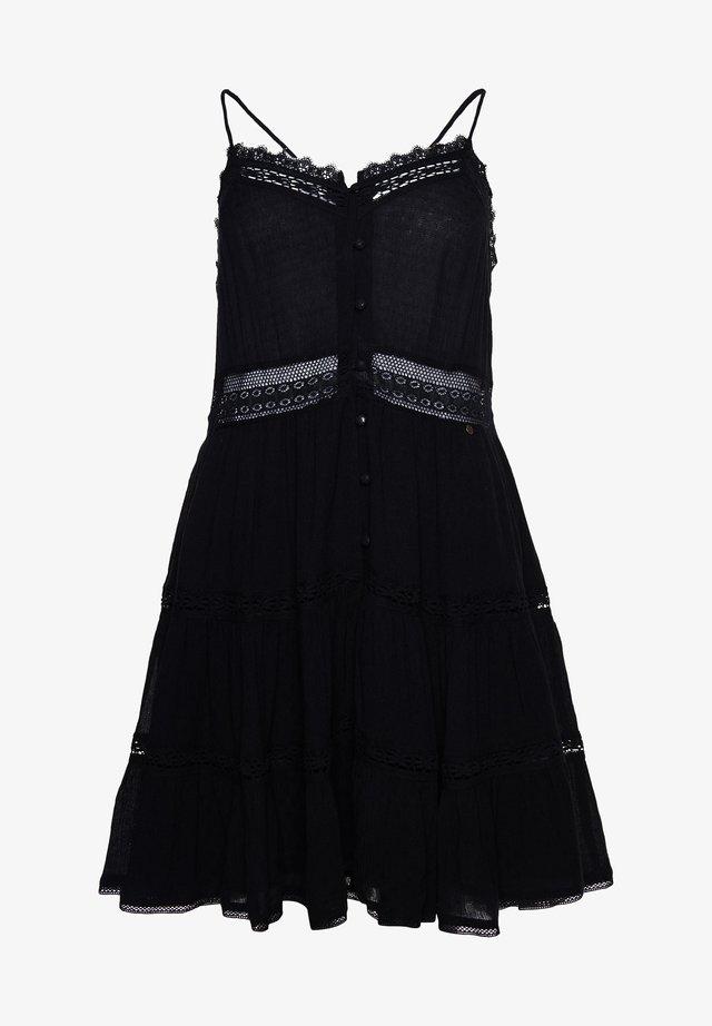 ALANA CAMI - Korte jurk - black