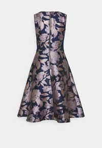 Adrianna Papell - FLORAL COMBO DRESS - Cocktail dress / Party dress - navy/blush - 1