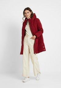 Esprit - PADDED COAT - Winter coat - dark red - 1